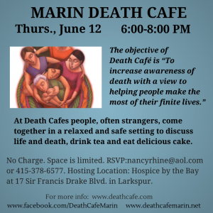 Marin Death Cafe June 12