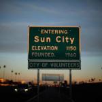 Del Webb Sun City sign